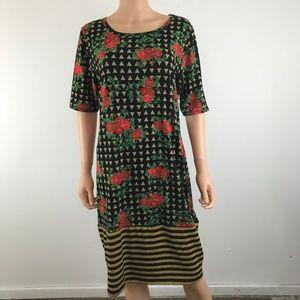 Lularoe  Julia Midi Dress XL NWT